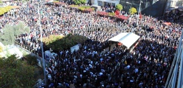 Şehit Teğmen'i binlerce kişi uğurladı
