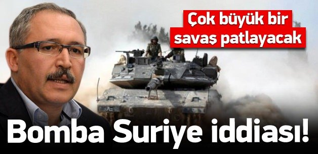 Selvi'den bomba Suriye iddiası!