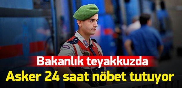 Sınav soruları için Jandarma'dan 24 saat nöbet