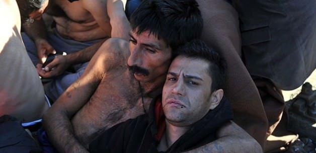 Sınırda can pazarı: Dudaklarını diktiler!