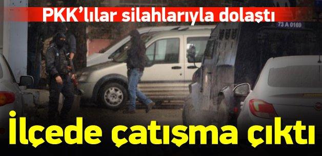 Şırnak'ta PKK'lılar polisle çatıştı