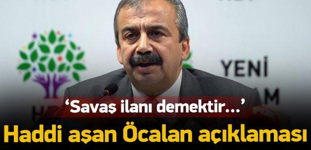 Sırrı Süreyya'dan haddi aşan 'Öcalan' açıklaması