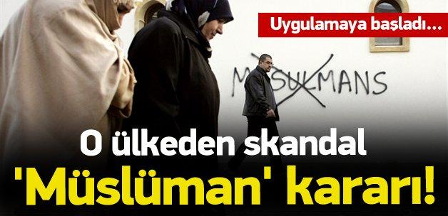 Slovakya Müslümanları fişliyor