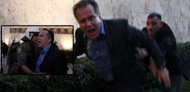 'Soykırım olmadı' diyen Yunan siyasetçiye saldırı