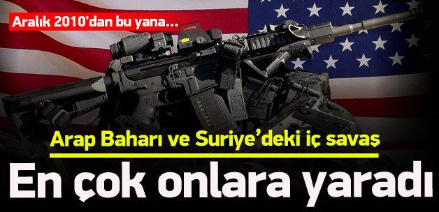 Suriye'deki savaş ABD'li silah şirketlerine yaradı