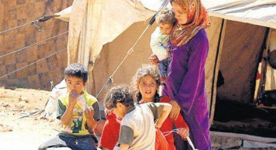 Suriyeli kadına toplu tecavüz!
