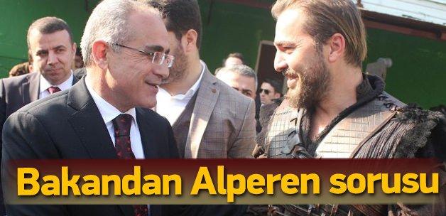 Topçu'dan Ertuğrul'a Alperen sorusu