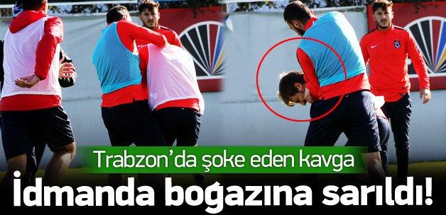 Trabzon'da Marin ile Aykut Demir birbirine girdi