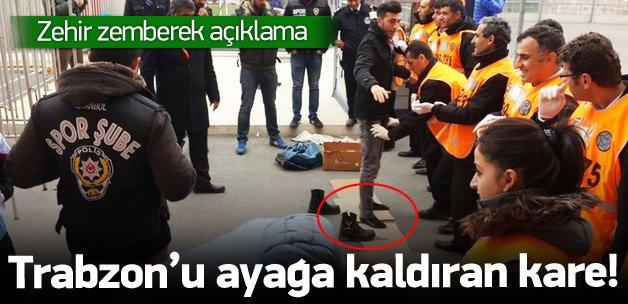 Trabzon'u ayağa kaldıran fotoğraf!