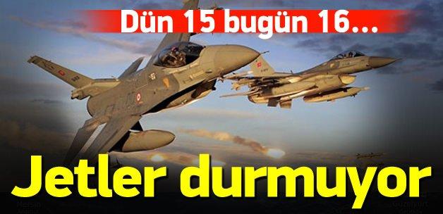 TSK'dan hava harekatı! 16 PKK'lı öldürüldü