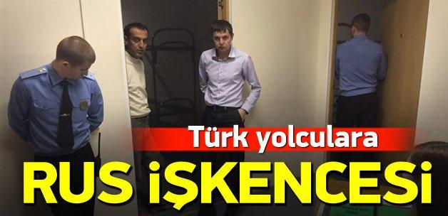 Türk yolculara havalimanında Rus işkencesi