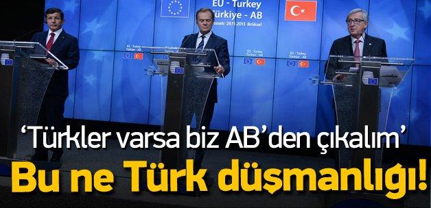 'Türkiye AB'ye giriyorsa biz çıkalım'