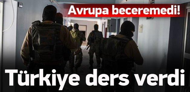 Türkiye dünyaya ders verdi
