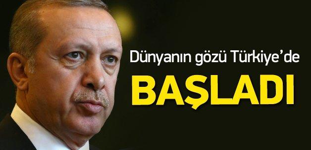 Türkiye'nin ev sahibi olduğu G-20 zirvesi başladı