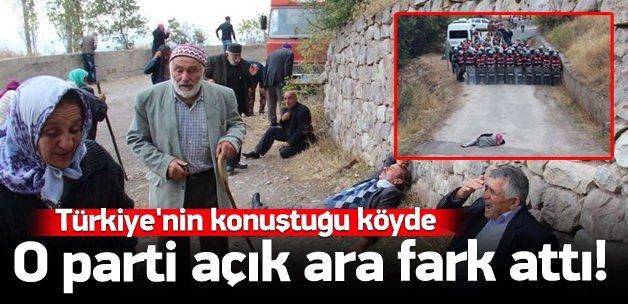 Türkiye'nin konuştuğu köyden o parti birinci çıktı
