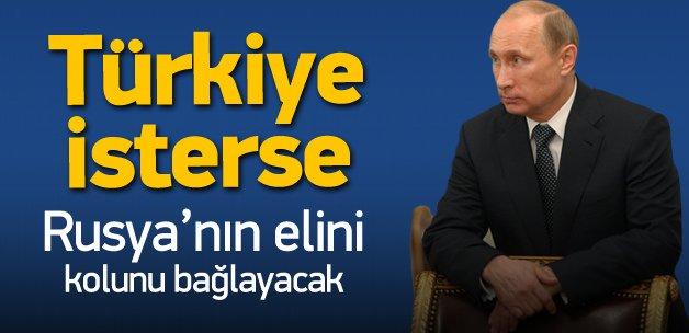 Türkiye'nin Rusya'ya karşı en büyük kozu
