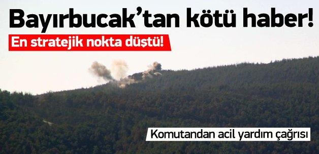 Türkmen Dağı'ndaki stratejik tepe düştü