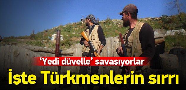 Türkmen lider: Yedi düvelle savaşıyoruz