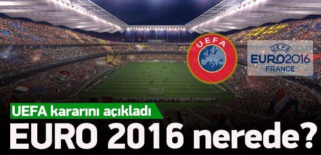 UEFA, EURO 2016 kararını açıkladı!