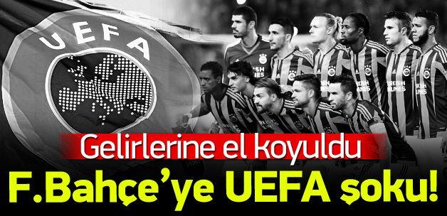UEFA, Fenerbahçe'nin gelirlerini dondurdu