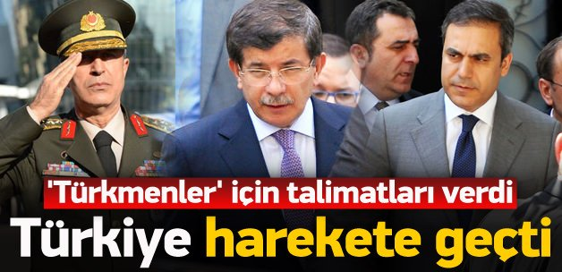 Ve Türkiye 'Türkmenler' için harekete geçti