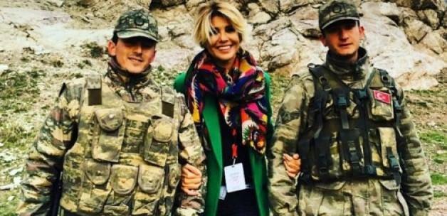 'Yüzü gülen askerim, elleri buz askerim'