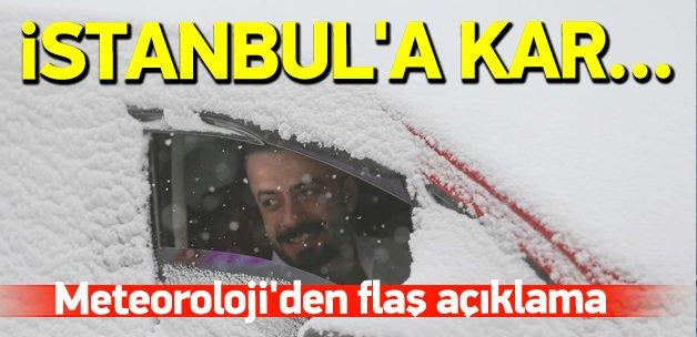 10 Aralıkta İstanbul'a kar yağacak mı?
