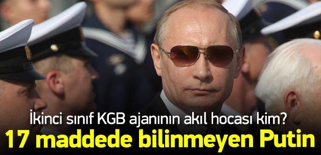17 maddede Vladimir Putin'in gizli hayatı