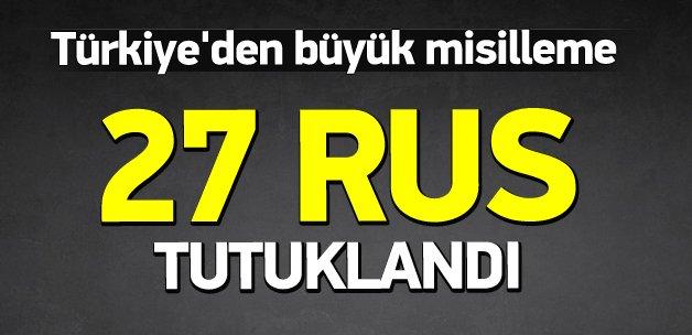 27 Rus gemisi Türkiye tarafından tutuklandı