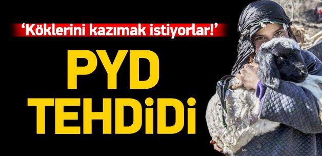 400 bin Türkmen PYD tehdidi altında