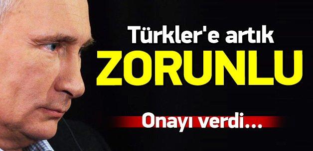 53 Rus şirket Türk vatandaşı çalıştırabilecek