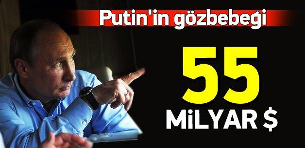 55.4 milyar dolar cirosu ile Putin'in gözbebeği