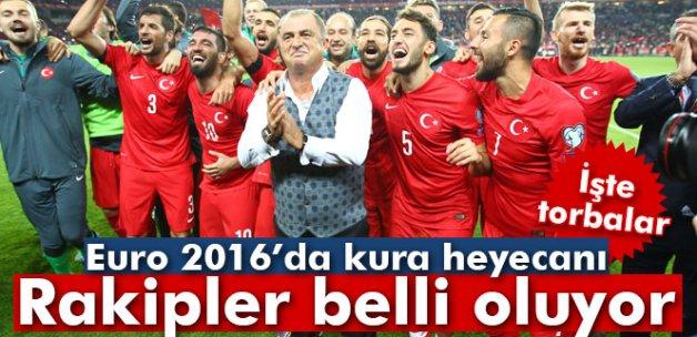 A Milli Takım'ın Euro 2016'daki rakipleri belli oluyor