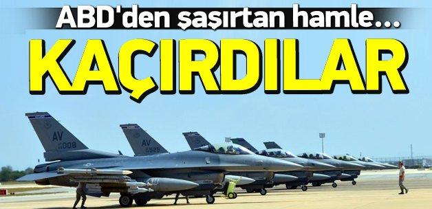 ABD F-15'lerini İncirlik'ten kaçırdı