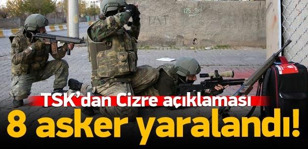 Açıklama TSK'dan geldi: 8 asker yaralı!