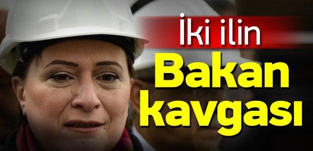 Adana ve Malatya Bakanı paylaşamıyor