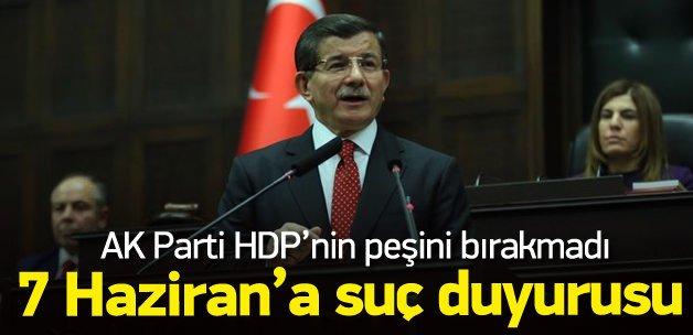 AK Parti'den 7 Haziran için suç duyurusu