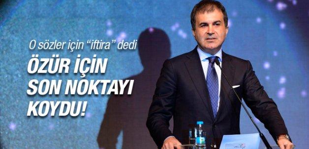 AK Partili Çelik'ten özür polemiğine cevap