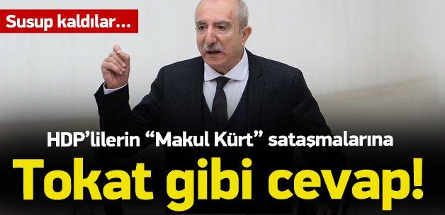 AK Partili Miroğlu'ndan 'makul Kürt' yanıtı
