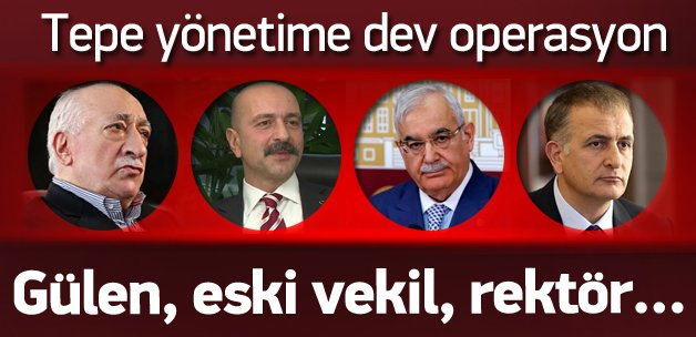 Ankara merkezli 10 ilde paralel operasyon