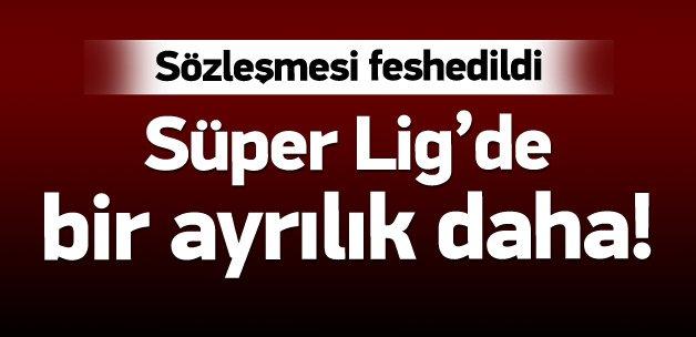 Antalyaspor'da Yusuf Şimşek'le yollar ayrıldı!