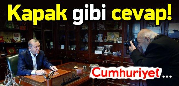 Ara Güler'den Cumhuriyet'e kapak gibi cevap