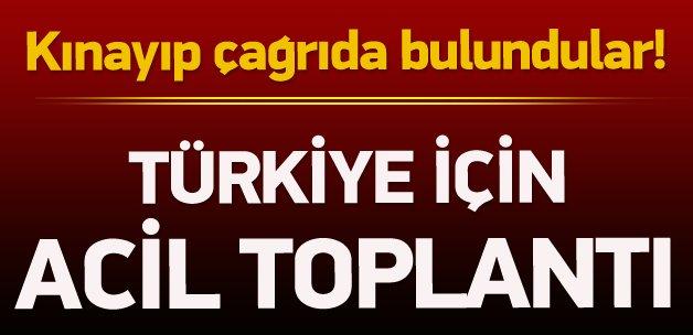 Arap Birliği Türkiye'yi kınayıp çağrıda bulundu