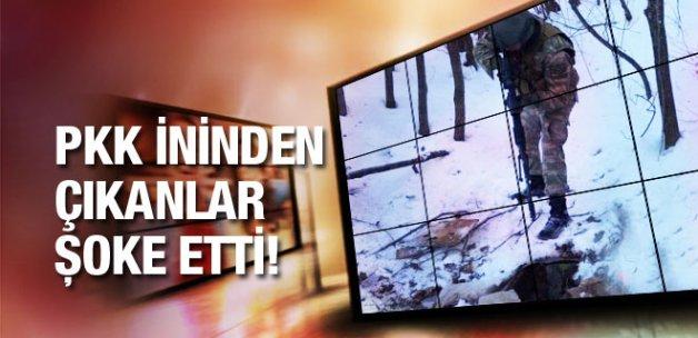 Asker PKK'nın Bitlis'teki inini bastı