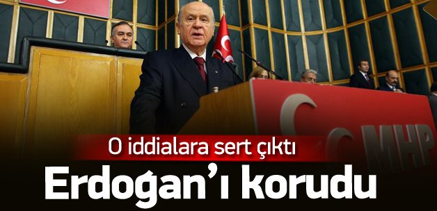 Bahçeli Erdoğan'ı Rusya'ya karşı korudu