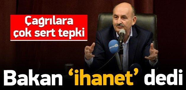 Bakan Müezzinoğlu'ndan sert sözler