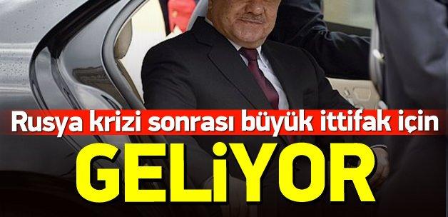 Barzani, Türk-Kürt ittifakı için geliyor