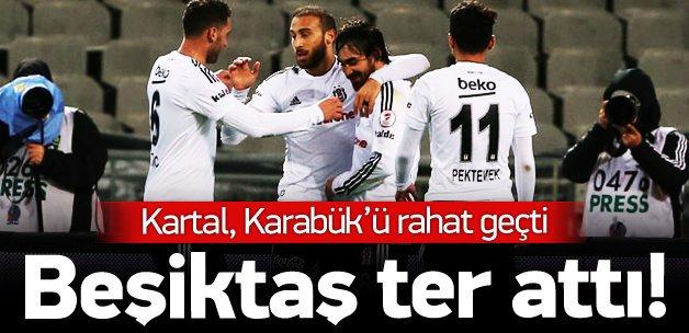 Beşiktaş - Karabükspor: 3-0