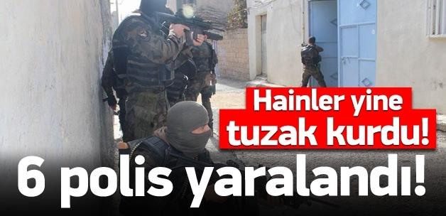Büyük çatışma: 6 polis yaralı!
