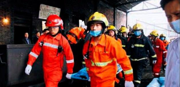 Çin'de maden yangını: 17 ölü var